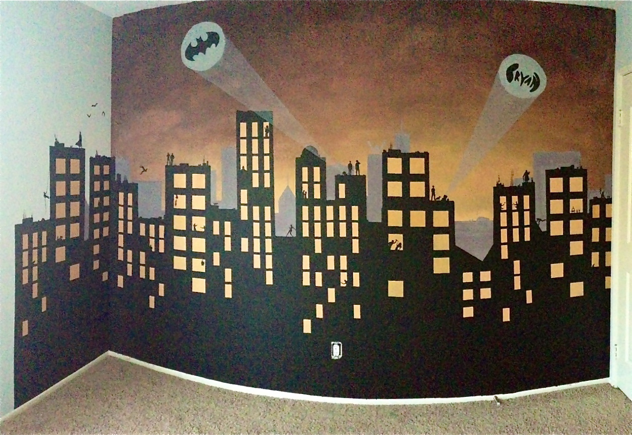 Gotham City Mural Part 11